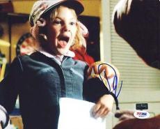 Drew Barrymore E.T. Signed 8X10 Photo *Damaged* PSA/DNA #S32977