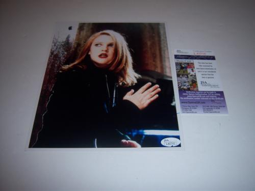 Drew Barrymore E.t.,charlies Angels,actress Jsa/coa Signed 8x10 Photo