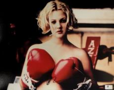 Drew Barrymore Hand Signed Autographed 11x14 Photo Sexy Gorgeous! GA756065