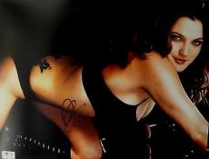 Drew Barrymore Hand Signed Autographed 11x14 Photo Sexy Gorgeous WOW! GA758936