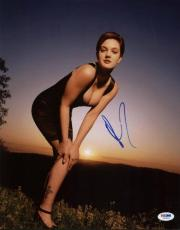 Drew Barrymore Sexy Signed 11X14 Photo Autographed PSA/DNA #I47614