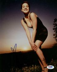 Drew Barrymore Sexy Signed 8X10 Photo Autographed PSA/DNA #X44447