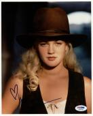 Drew Barrymore Sexy Signed 8X10 Photo Autographed PSA/DNA #X44450