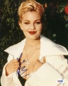 Drew Barrymore Sexy Signed 8X10 Photo Autograph PSA/DNA #P43326