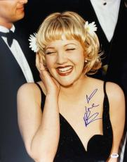 Drew Barrymore Signed 16x20 Photo Autographed Psa/dna #u70480