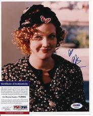 Drew Barrymore Signed 8x10 Photo Auto Psa/dna Coa Heart Insc. Ph001