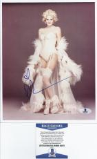 Drew Barrymore Signed 8X10 Photo - Beckett BAS