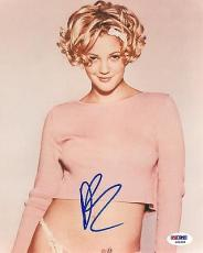 Drew Barrymore Signed Authentic Autographed 8x10 Photo (PSA/DNA) #S81808