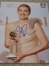 DREW BARRYMORE SIGNED AUTOGRAPH 8x10 PHOTO GLOBE AUTO
