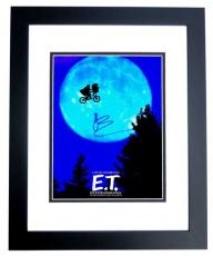 Drew Barrymore Signed - Autographed E.T. the Extra-Terrestrial 11x14 inch Photo BLACK CUSTOM FRAME - Guaranteed to pass PSA or JSA