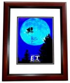 Drew Barrymore Signed - Autographed E.T. the Extra-Terrestrial 11x14 inch Photo MAHOGANY CUSTOM FRAME - Guaranteed to pass PSA or JSA