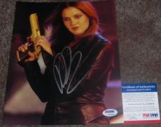 TOUGH!!! Drew Barrymore Signed Sexy CHARLIE'S ANGELS 8x10 Photo #1 PSA/DNA