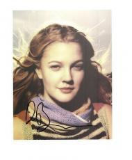 Drew Barrymore-signed photo -18 - COA