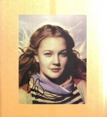 Drew Barrymore-signed photo- pose 17 - COA