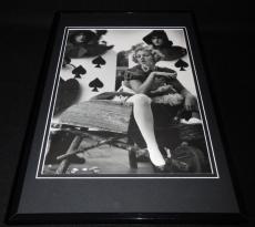 Drew Barrymore Smoking 1996 Framed 11x17 Photo Poster Display