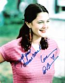 """DREW BARRYMORE - Starred in """"E.T."""", """"50 FIRST DATES"""", and """"POSION IVY"""" Signed 8x10 Color Photo"""