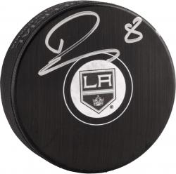 Drew Doughty Los Angeles Kings 2014 Stanley Cup Champions Autographed Hockey Puck