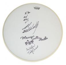 Drummer Autographed Drumhead Prince Jay Leno Backstreet Boys AFTAL