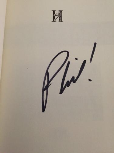 Duck Dynasty Phil Robertson signed book unPHILtered first edition. Autographed.