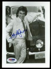 Dudley Moore Arthur Signed 5x6.5 Autographed PSA/DNA #L72994