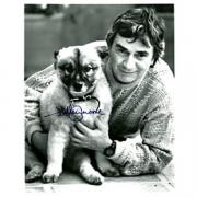 Dudley Moore Autographed Black & White 8x10 Photo