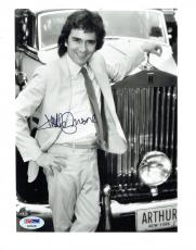 Dudley Moore Signed Arthur Authentic Autographed 8x10 B/W Photo PSA/DNA #AB55280