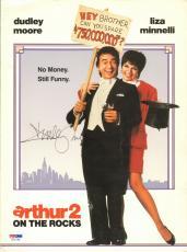 Dudley Moore Signed Original Arthur Movie Press Kit Folder PSA/DNA COA Autograph