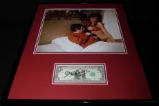 Dudley Moore Signed Framed 16x20 Photo Display JSA Bedazzled w/ Raquel Welch
