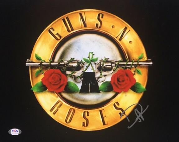 Duff McKagan Signed 11x14 Photo *Guns N Roses *Ozzy *Musician PSA AH20689