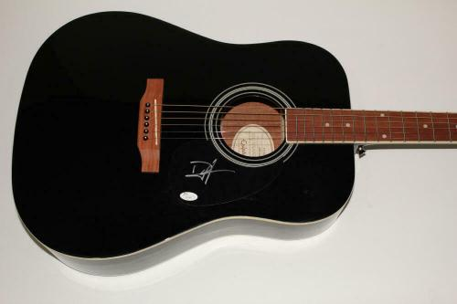 Duff Mckagan Signed Autograph Gibson Epiphone Acoustic Guitar - Guns N Roses Jsa