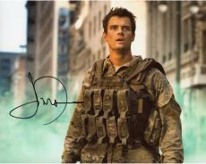 Josh Duhamel Autographed 8'' x 10'' In Military Uniform Photograph