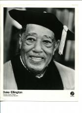 Duke Ellington Jazz Big Band Doctor Columbia University Original Press Photo