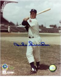 Duke Snider Brooklyn Dodgers Autographed 8'' x 10'' Photograph - Mounted Memories