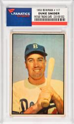 Duke Snider Brooklyn Dodgers 1953 Bowman #117 Card