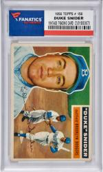 Duke Snider Brooklyn Dodgers 1956 Topps #150 Card