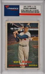 Duke Snider Brooklyn Dodgers 1957 Topps #170 Card