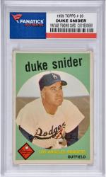 Duke Snider Brooklyn Dodgers 1959 Topps #20 Card