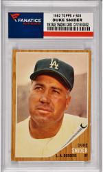 Duke Snider Brooklyn Dodgers 1962 Topps #500 Card