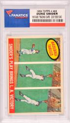 Duke Snider Los Angeles Dodgers 1959 Topps #468 Card
