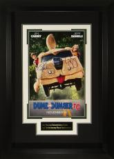 Dumb and Dumber To Jim Carrey Jeff Daniels Signed 11x17 Post