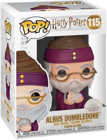 Dumbledore w/ Baby Harry Harry Potter #115 Funko Pop! Figurine