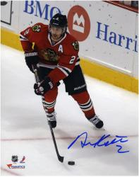 "Duncan Keith Chicago Blackhawks 2013 NHL Stanley Cup Final Champions 8"" x 10"" Autographed Action Photograph"