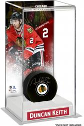 Duncan Keith Chicago Blackhawks Deluxe Tall Hockey Puck Case