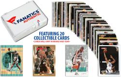 Tim Duncan San Antonio Spurs Collectible Lot of 20 NBA Trading Cards