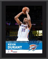 Kevin Durant Oklahoma City Thunder Sublimated 10.5'' x 13'' Plaque - Mounted Memories