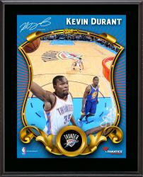 Kevin Durant Oklahoma City Thunder Sublimated 10.5'' x 13'' Stylized Plaque - Mounted Memories