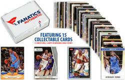 Kevin Durant Oklahoma City Thunder Collectible Lot of 15 NBA Trading Cards
