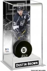 Dustin Brown Los Angeles Kings Deluxe Tall Hockey Puck Case