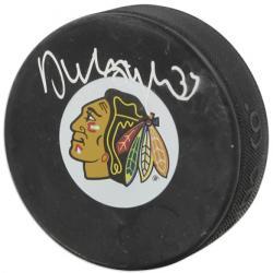 Chicago Blackhawks Dustin Byfuglien Autographed Puck