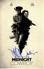 Dustin Hoffman and Jon Voight Signed - Autographed Midnight Cowboy 11x17 inch Photo - Guaranteed to pass PSA or JSA